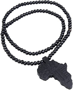 Wooden Africa Necklace