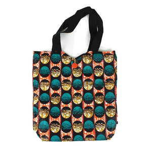 Ankara Print Tote Bag - Large
