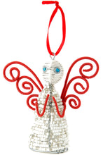 Load image into Gallery viewer, Holiday Ornament: Zulu Hand Beaded Angel