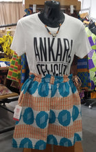 Load image into Gallery viewer, Ankara Summer Shorts (Size Small)