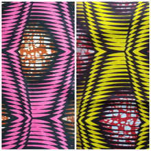 Load image into Gallery viewer, 'Frequency' Head Wraps (2 yds)