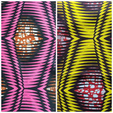 'Frequency' Head Wraps (2 yds)