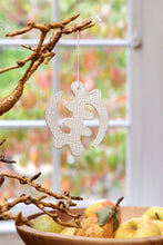 Load image into Gallery viewer, Holiday Ornament: Adinkra Symbol (Gye Nyame)