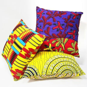Ankara Throw Pillows - Sets of 2