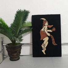 Load image into Gallery viewer, Nigerian Black Velvet Wood Art