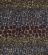 Load image into Gallery viewer, 'African Leopard' Head Wrap (2 yds)