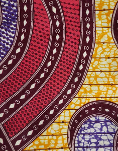 Orbit Ankara Fabric - 2 yard set