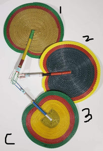 Nigerian Multi-Colored Fan