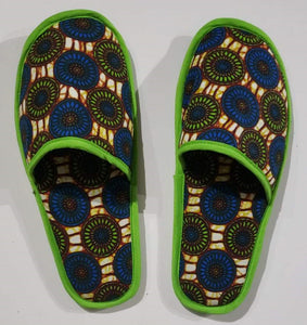 Ankara Bedroom Slippers