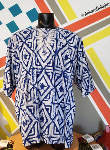 Men's Batik Dashiki Tops