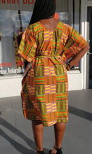 Load image into Gallery viewer, Kente Print Shift Dress