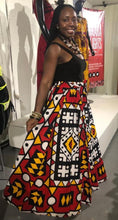 Load image into Gallery viewer, 'Colors of Angola' Samakaka Print Maxi Skirt