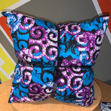 Load image into Gallery viewer, Ankara Throw Pillows - Sets of 2