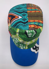 Load image into Gallery viewer, African Print Military Hat