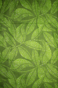 'Spring Greens' Ankara Fabric (6 yds)