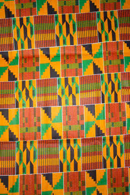 'Addae' Kente Print Fabric (6 yds)