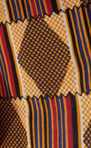 'Ampah' Kente Print Fabric (6 yds)