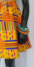 Load image into Gallery viewer, Kente Print Mini Skirt