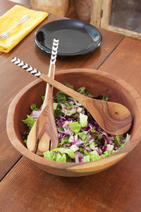 Kenyan Bone & Wood Salad Set (2)