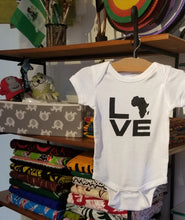 Load image into Gallery viewer, Baby 'Love Africa' Onesie