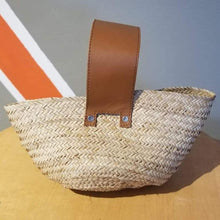 Load image into Gallery viewer, ÉKÉTÉ Mpulu Straw Handbag