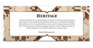 Nubian Heritage: Raw Shea Butter Bar Soap (5oz)