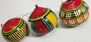 Holiday Ornament: Painted Hanging Gourds