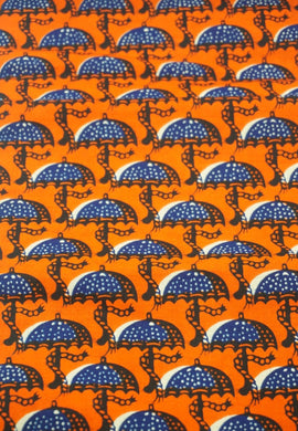 'Rainy Day' Ankara Fabric (2 yds)