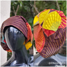 Load image into Gallery viewer, African Print Surgical Cap