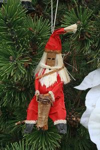 Holiday Ornament: Santa Claus Drummer