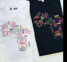 Load image into Gallery viewer, 'African Map' T-Shirt