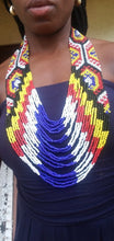 Load image into Gallery viewer, Pulika Beaded Drape Necklace