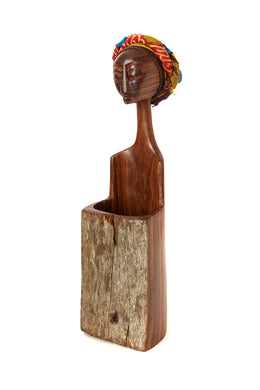 Mozambican Lady Pencil Holder Cup
