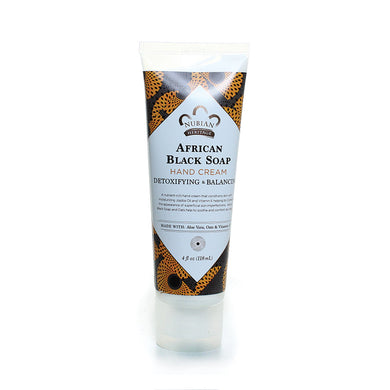 Nubian Heritage: African Black Soap Hand Cream (4oz)