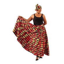Load image into Gallery viewer, African Festival Maxi Skirt