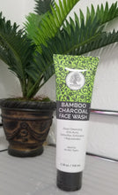 Load image into Gallery viewer, Bamboo Charcoal Face Wash (3.38oz)