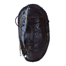 Load image into Gallery viewer, Black Mask Leather Purse