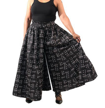Load image into Gallery viewer, Mud Print Palazzo Pants