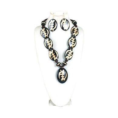 Bone Necklace & Earring Sets (Pre-Order)