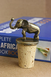 South African Brass Wine Stopper