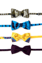 Load image into Gallery viewer, Nigerian Ankara Bow Ties - Assorted