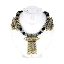 Load image into Gallery viewer, Adora Adjustable Brass Neckpiece