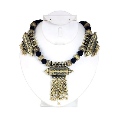 Adjustable Adora Brass Neckpiece