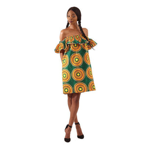 Ngozi Ruffle Dress