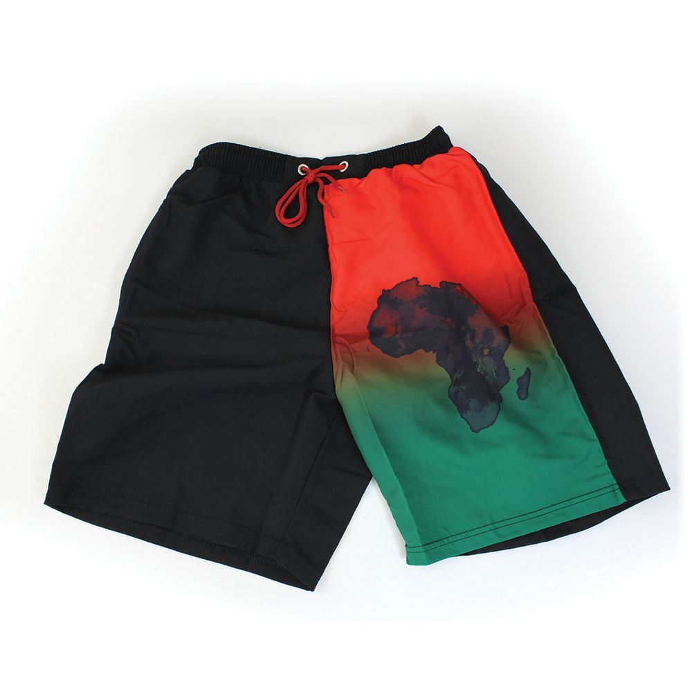 'African Pride' Men's Swim Shorts
