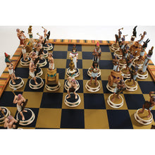 Load image into Gallery viewer, Egyptian 'Queen Isis' Deluxe Chess Set (Pre-Order)