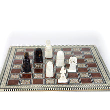 Load image into Gallery viewer, Egyptian 'Mother of Pearl' Deluxe Chess Set (Pre-Order)