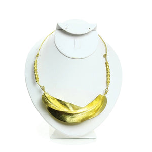 Fulani Gold Twist Necklace XL (Pre-Order)