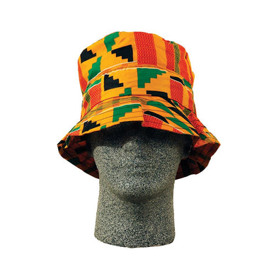 Unisex Kente Print Bucket Hat #2