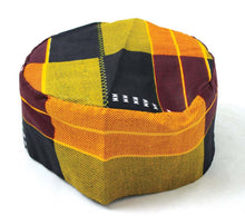 Load image into Gallery viewer, Kente Print Kufi (Cap)